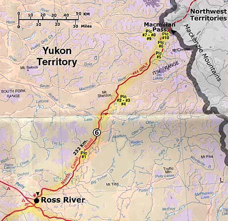 Canol Road Map