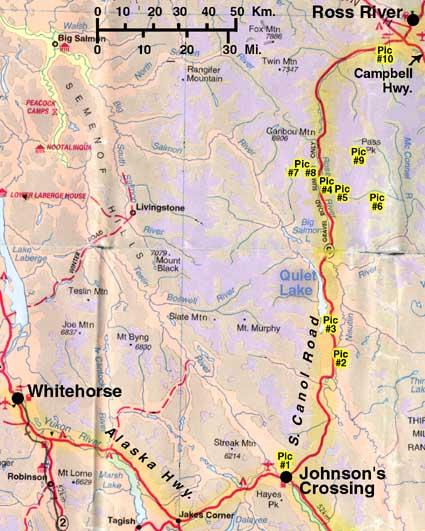 South Canol Road Yukon Territory